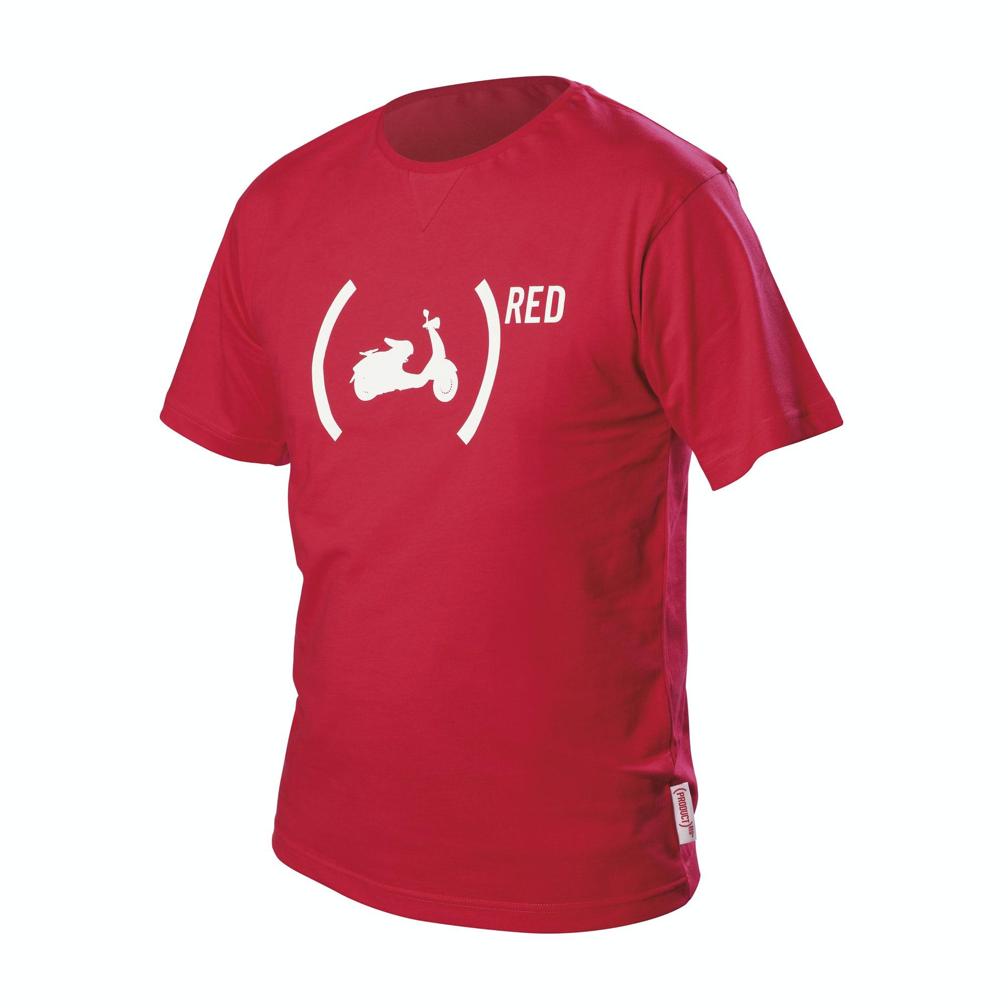 t shirt vespa 946 red t shirts clothing. Black Bedroom Furniture Sets. Home Design Ideas