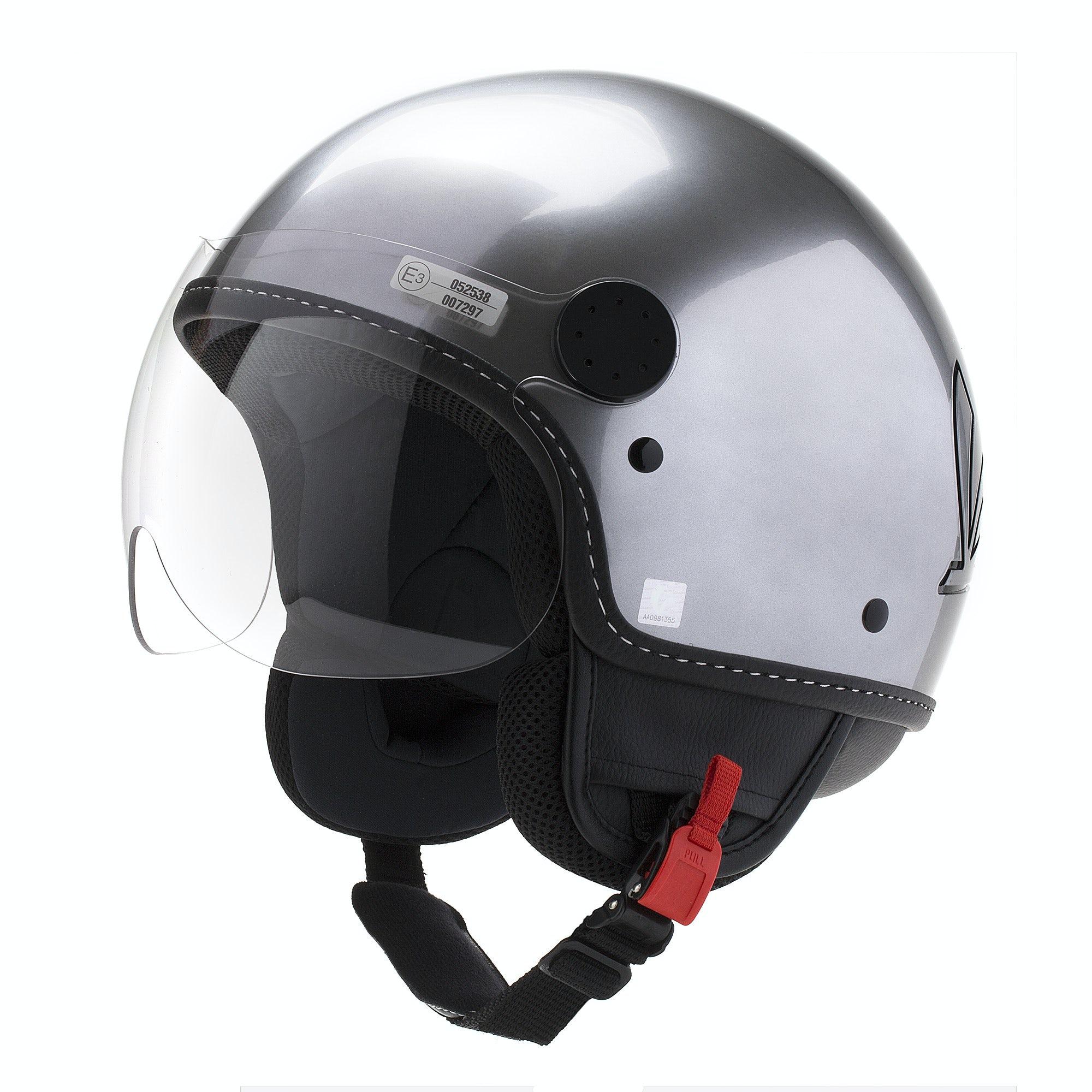 vespa steel visor unconventional helmets helmets. Black Bedroom Furniture Sets. Home Design Ideas