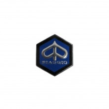 Small Hexagonal Piaggio badge
