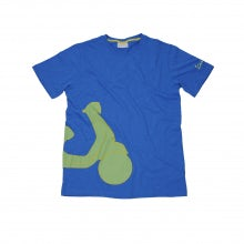 Vespa shape T-shirt