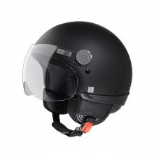 VESPA BLACK/ORANGE VISOR