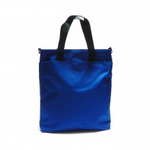 Tote bag rainbow line black blue