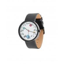 VESPA YOUNG WATCH - GENUINE LEATHER AND STAINLESS STEEL