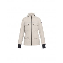 VESPA / PEUTEREY BRIGHT JACKET SABLE - WOMAN