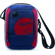 "Borsa ""BOX"" BLUE+RED"