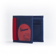 "Wallet ""ROLLER"" Dark Blue/Red"