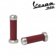 Manopole in alluminio - Materiale sella (rosso)