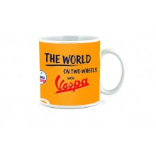 "MUG  ""THE WORLD"""