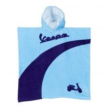 Poncho mare bimbo azzurro/viola