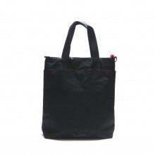 Tote bag rainbow line black