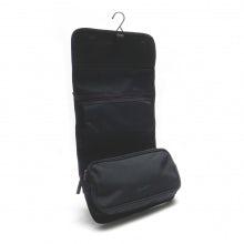 Wrap cosmetic case rainbow line black