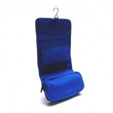 Wrap cosmetic case rainbow line blue