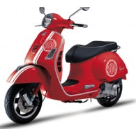KIT GRAFICHE PER VESPA SUPER 300 ROSSA