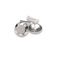 VESPA 946 MAN CUFFLINKS IN SILVER