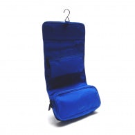 Wrap cosmetic case rainbow line blue