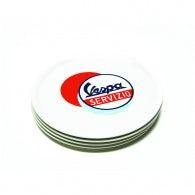 """Ceramic pizza dish - Vespa Servizio - """"Multicolor"""""""
