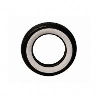 Tyre with white band 3.50 x 10""