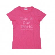 This is our world vespa t-shirt
