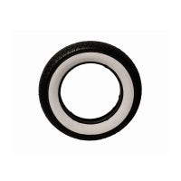 """Tyre with white band 3.50 x 10"""""""