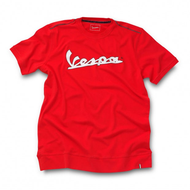 vespa logo t shirt t shirts clothing. Black Bedroom Furniture Sets. Home Design Ideas